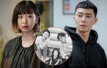 """Lộ ảnh nhan sắc khác lạ của đôi Park Seo Joon - Kim Da Mi trước khi làm """"dân anh chị"""" Tầng Lớp Itaewon"""