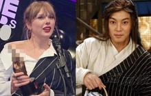"""Góc cười ná thở: Taylor Swift bất ngờ """"xuyên không"""" và đổi tên thành Bạch Triển Đường, tất cả là vì 1 chiếc áo?"""
