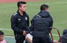 Quang Hải không khoẻ, tái phát chấn thương từ SEA Games, Hà Nội FC bị Viettel cầm hoà trong trận giao hữu