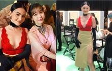 IU và Mai Davika ngồi cạnh nhau trên front row show Gucci nhưng vòng 1 sexy bức người của mỹ nhân Thái mới là nhân tố hot nhất