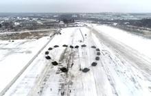 Chỉ có ở Nga: anh Trung úy xếp 16 chiếc xe tăng T-72B2 thành hình trái tim để cầu hôn bạn gái