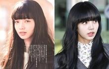 """Nhuộm tóc đen, cắt mái bằng, Lisa """"bắt lú"""" netizen vì quá giống tình tin đồn của G-Dragon"""
