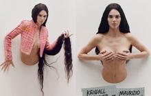 """""""Sang chấn"""" với bộ ảnh mới của Kendall Jenner: Concept """"dị"""" gây lú, phô bày vòng 1 quá sức bạo liệt"""