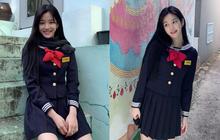 """Ái nữ nhà Mama Chuê diện đồng phục gây choáng: """"Em gái"""" Song Joong Ki nay đã 30 tuổi nhưng sao như học sinh thế này?"""