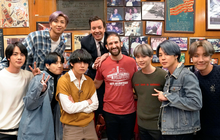 Nhóm nhạc toàn cầu BTS ghé thăm nhà hàng nổi tiếng nhất nhì New York mà không một ai nhận ra, lý do là gì?