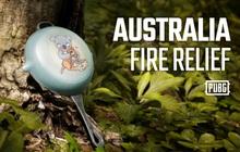 PUBG Corp gây quỹ hỗ trợ khắc phục hậu quả cháy rừng tại Australia với skin chảo Koala cực dễ thương
