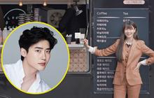 Chiếc xe đồ ăn Kwon Nara mới được tặng trên phim trường Tầng Lớp Itaewon càng khơi dậy tin đồn tình ái với nam thần Lee Jong Suk hơn