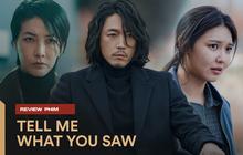 """Review TELL ME WHAT YOU SAW: Soo Young săn sát nhân bằng """"mắt thần"""", kinh dị đẫm máu đúng chất OCN"""