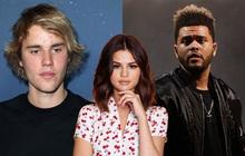 """BXH Billboard Hot 100 tuần này: Selena Gomez bị hai anh chàng người yêu cũ Justin Bieber - The Weeknd xúm lại """"bắt nạt"""""""