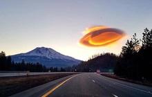 Vật thể lạ xuất hiện trên bầu trời trông giống hệt UFO nhưng thực chất lại là hiện tượng tự nhiên kỳ thú mà ít ai biết