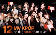 12 MV Kpop có tỉ lệ dislike cao nhất YouTube: BLACKPINK và BTS lọt top dưới; hạng 3 gây bất ngờ hơn vị trí đầu do chạy quảng cáo quá nhiều
