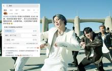 """BTS lên hot search tại Weibo ngay sau màn comeback siêu đỉnh, nhưng kết quả cho ra phản ứng của netizen Trung lại là: """"Khó nghe"""""""