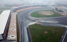 Cận cảnh đường đua F1 tại Hà Nội đang được gấp rút hoàn thành