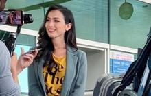 Hoài Sa chính thức lên đường đến Thái Lan tham dự Miss International Queen, liệu có lập lại kỳ tích của Hương Giang?