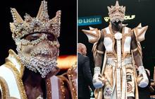 """Quyết chơi lớn, anh chàng võ sĩ cao hơn 2m đeo luôn """"khẩu trang"""", diện y phục trị giá 1 tỷ đồng lên sàn thi đấu"""