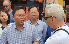 """Chủ tịch tỉnh nói tiếng Anh lưu loát với khách Tây, khẳng định: """"Quảng Nam chưa ghi nhận ca bệnh nào nhiễm Covid-19"""""""