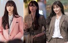 """Mỹ nhân diện đồ công sở đẹp nhất màn ảnh Hàn đợt này hẳn là Soo Ah của """"Itaewon Class"""": Ăn vận đơn giản mà độ sang xịn có thừa"""