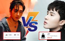 """K-ICM nhận 1 triệu dislike MV mới thì kênh youtube của Jack cán mốc 1 triệu đăng ký: Hai thái cực đối lập ngày """"Sóng gió"""" trở lại!"""