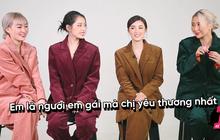 """""""Hội chị em"""" Chi Pu - Quỳnh Anh Shyn - Salim - Sun HT: Vừa """"bóc phốt"""" nhau lại nói lời yêu siêu dễ thương"""