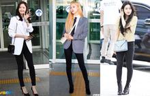 """Chân cong nhưng khí chất có thừa, loạt idol Kpop vẫn tự tin diện quần skinny, có người còn được khen """"đỉnh"""" nữa kìa"""