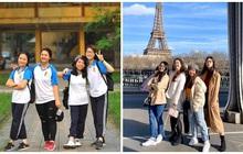 Hội bạn thân nhà người ta: 5 năm trước học cùng trường, 5 năm sau đã cùng nhau sang Pháp học Thạc sĩ!