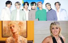 """Pitchfork cho album mới của BTS điểm """"trung bình khá"""", tiễn Justin Bieber, Charlie Puth, Miley Cyrus và cả tá ngôi sao Hollywood """"ra chuồng gà"""" chơi!"""