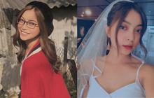 """Bí quyết """"nối lại tình xưa"""" của Nhật Lê: Cứ chăm chỉ thả thính đều đều còn hoá cô dâu cực xinh, Quang Hải không xiêu lòng cũng lạ!"""