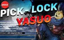 Lập trình viên viết chương trình auto pick lock Yasuo như một cơn gió, cư dân mạng nháo nhào việc sử dụng có bị khóa tài khoản?