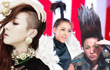 Dara chọn ra kiểu tóc độc đáo nhất khi còn ở cùng 2NE1: Cạo nửa đầu, tóc cây dừa hay dựng đứng như bị sét đánh?