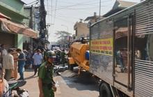 TP.HCM: Gia đình khóc ngất tại hiện trường nữ sinh lớp 8 bị xe máy bơm bê tông cán tử vong