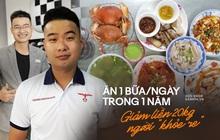 Ăn 1 bữa/ngày theo triết lý Nhật Bản, chàng trai Kon Tum giảm gần 20kg chỉ trong 1 năm, xóa sạch bệnh tật