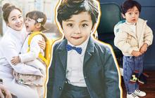 """Nhóc tỳ được """"chuyển giới"""" thành con gái Kim Tae Hee: Mẫu nhí nam có gương mặt như thiên thần, 5 tuổi đã quá tài năng"""