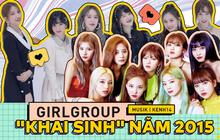 """Sự nghiệp các girlgroup """"khai sinh"""" năm 2015: GFRIEND vịt hóa thiên nga, TWICE sau 5 năm vẫn là nhóm top đầu còn """"em gái T-ARA"""" bị đoán sớm tan rã"""