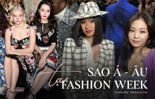 """Sao Âu Á chung khung hình tại Fashion Week: Sao Á không ít lần bị """"dìm"""" nhưng vẫn có những màn """"phản đòn"""" khiến fan nở mày nở mặt"""