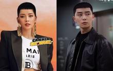 """Giật nảy mình khi Chi Pu ướm thử tóc """"hạt dẻ"""" của ông chủ quán nhậu Park Seo Joon: Tưởng không hợp mà hợp không tưởng"""