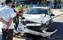 Tai nạn liên hoàn trước khu phố Tây Đà Nẵng, 3 người bị thương