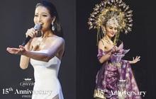 Hoài Sa diện váy gợi cảm, thể hiện khả năng ca hát khi thi tài năng: Liệu có đấu lại dàn thí sinh nước bạn quá đầu tư?