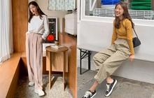 """Phát chán khi diện mãi quần jeans, đây là 4 mẫu quần vừa thoải mái vừa """"hack"""" dáng các nàng nên tích cực mặc"""