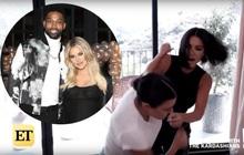 Nhắc đến chuyện tái hợp cùng sao bóng rổ có tính trăng hoa, chị em nhà Kardashian đấm nhau ngay trên sóng truyền hình