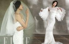 """Ảnh cưới chụp tạp chí của """"Mợ chảnh"""" Jeon Ji Hyun sau 8 năm hot trở lại khiến Sina phải dùng từ """"tuyệt mỹ"""" để tán dương"""