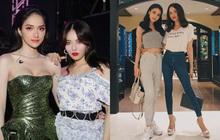 Hương Giang chung khung hình với sao Hàn - Thái: Váy áo lẫn makeup đều nổi bật hơn, nhưng vẫn có một lần thua thiệt