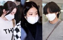 Chuyện thật như đùa: Bởi vì gương mặt quá nhỏ nên Jennie, V và rất nhiều idol được khuyên dùng khẩu trang trẻ em để đảm bảo an toàn mùa dịch bệnh Covid-19