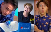 """Hòa Minzy, S.T Sơn Thạch, Ngô Kiến Huy và Duy Khánh """"phản đòn"""" bạn thân cực lầy lội trước thử thách """"khui hè"""""""