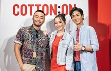 """Cặp đôi """"Mắt Biếc"""" Trần Nghĩa – Trúc Anh tái hợp tại sự kiện khai trương cửa hàng Cotton On SC Vivocity"""