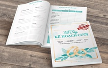 Đám cưới không khó, nếu bạn sở hữu bí kíp Sổ Tay Cưới Kim Ngọc Thủy