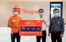 Shopee hỗ trợ 2 máy trợ thở, 1 phòng áp lực âm, 5.000 bộ bảo hộ y tế và 5.000 khẩu trang N95 cho tuyến đầu chống dịch COVID-19