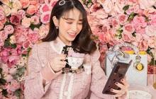 Á hậu Dương Tú Anh, ái nữ đại gia Minh Nhựa dạo phố thời thượng với trang phục và phụ kiện hàng hiệu
