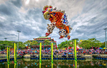Hàng ngàn du khách tới check in lễ hội hoa tại Sun World Danang Wonders