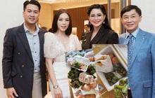 Tâm lý như bố tỷ phú của Phillip Nguyễn: Gửi cả tá đồ ăn, bánh trái đến hải sản cho con trai và bạn gái ở nhà tránh dịch