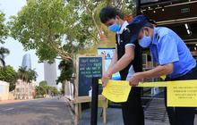 """Hàng loạt hàng quán ở Đà Nẵng đóng cửa thực hiện """"lệnh giới nghiêm"""""""